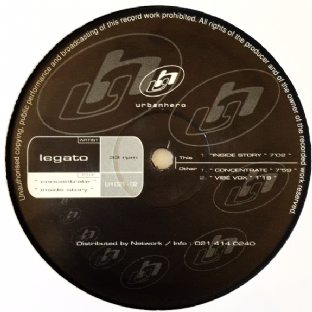 "Legato ‎- Concentrate/Inside Story(12"") (G++/NM)"